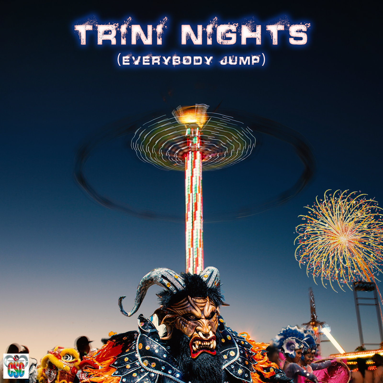 Trini-NightsEverybody-Jump-by-Cousins-STEEL--Cortez-single-cover-artwork